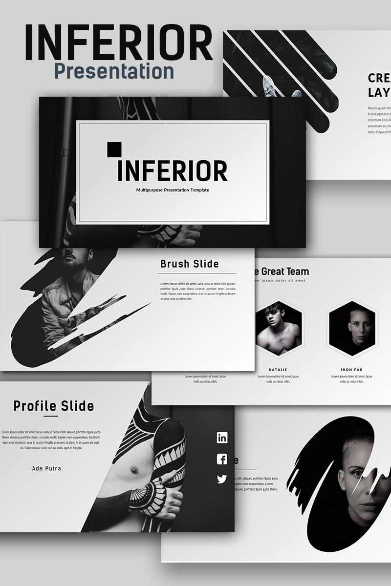 PowerPoint Vorlage #65999 für Design und Fotografie