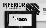 Inferior Creative Presentation PowerPoint Template