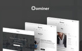 "Tema WordPress #65910 ""Dominer Business & Services"""