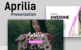 """Aprilia Creative"" - Keynote шаблон"
