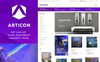 Articon - Art Gallery Store Magento Theme Big Screenshot