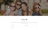 Template di Landing Page Responsive #67048 per Un Sito di Fotografia