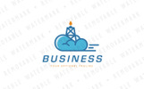 Petro Cloud Logo Template
