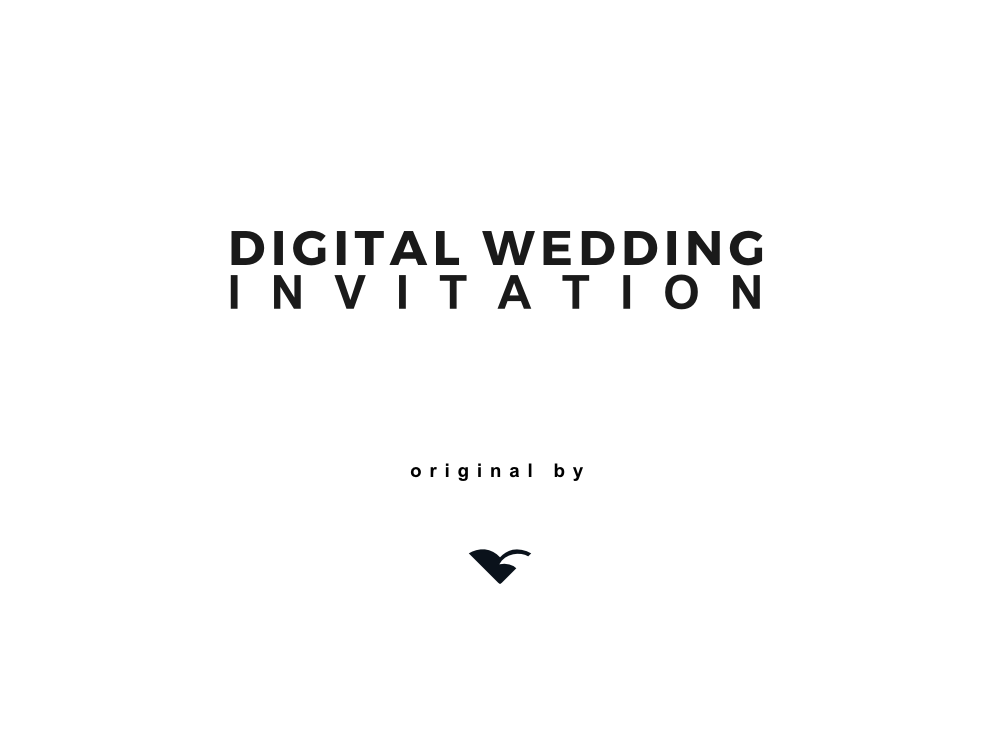 Digital wedding invitation wedding invitation wedding gift zoom in negle Image collections