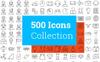 500 Modern Iconset Template New Screenshots BIG