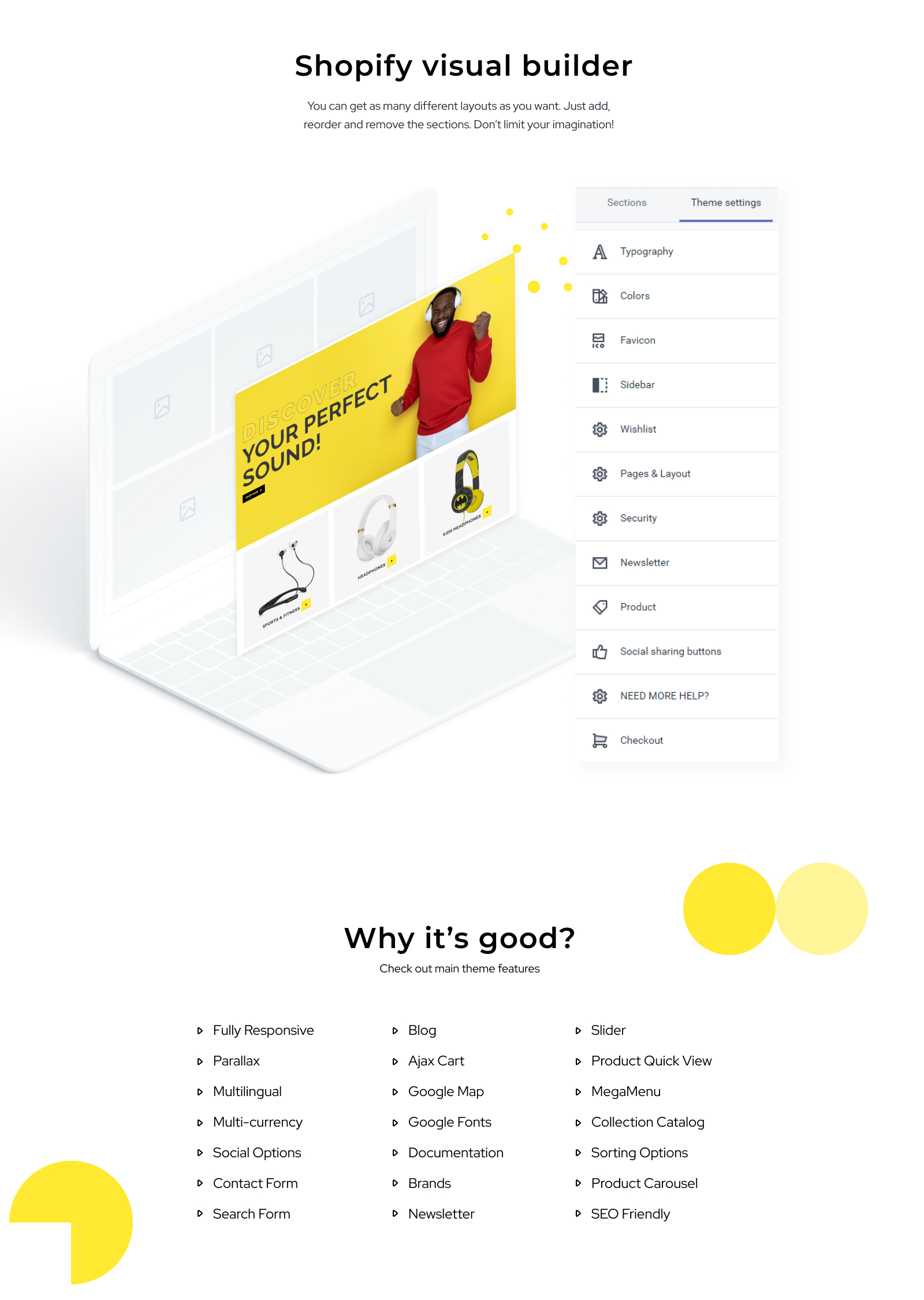 Swoofer - Audio Store Multipage Creative Shopify Theme