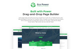 Responsivt EcoPower - Alternative Power & Solar Energy WordPress-tema