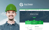 """EcoPower - Alternative Power & Solar Energy"" thème WordPress adaptatif"