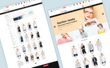 """Clothing - Multipurpose Fashion Drag & Drop Sections Shopify Theme"" Responsive Shopify Thema"