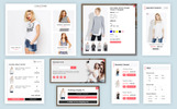 Clothing - Çok Amaçlı Sürükle ve Bırak Bölümü içeren Moda Shopify Teması