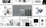 """Luxusní Šablona pro Keynote """"Ozon Minimal"""""""