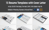 13 Resume Templates in One Resume Template
