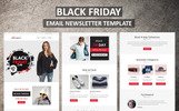 Responsivt Black Friday - Email Newsletter-mall