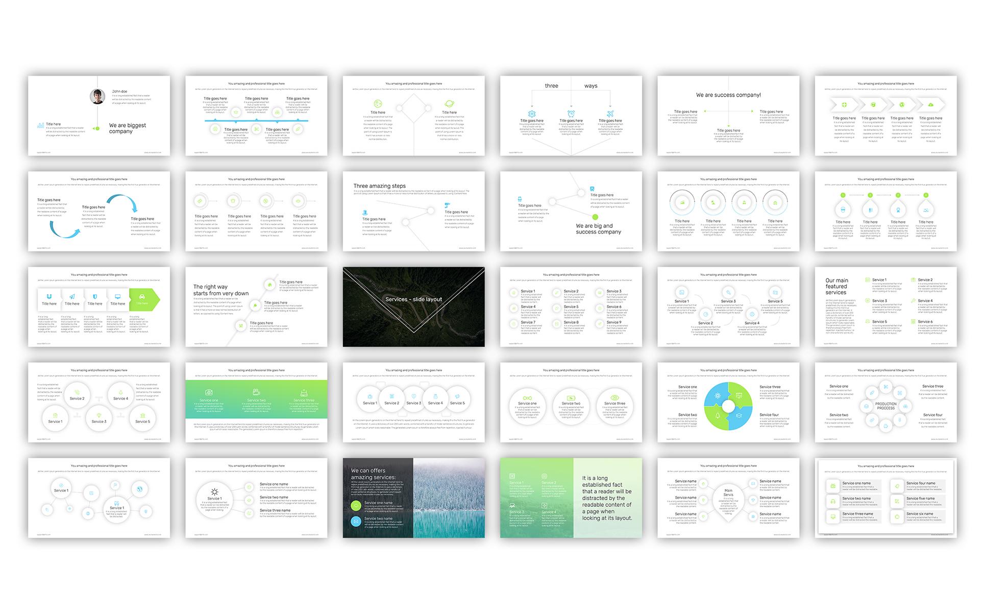 PowerPoint Vorlage #65993 für Immobilien