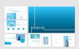 """PowerPoint Vorlage namens """"Plava"""""""