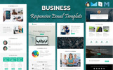 """Business - Responsive"" modèle Bulletin"