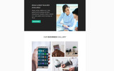 Template de Newsletter para Sites de Web Design №64535