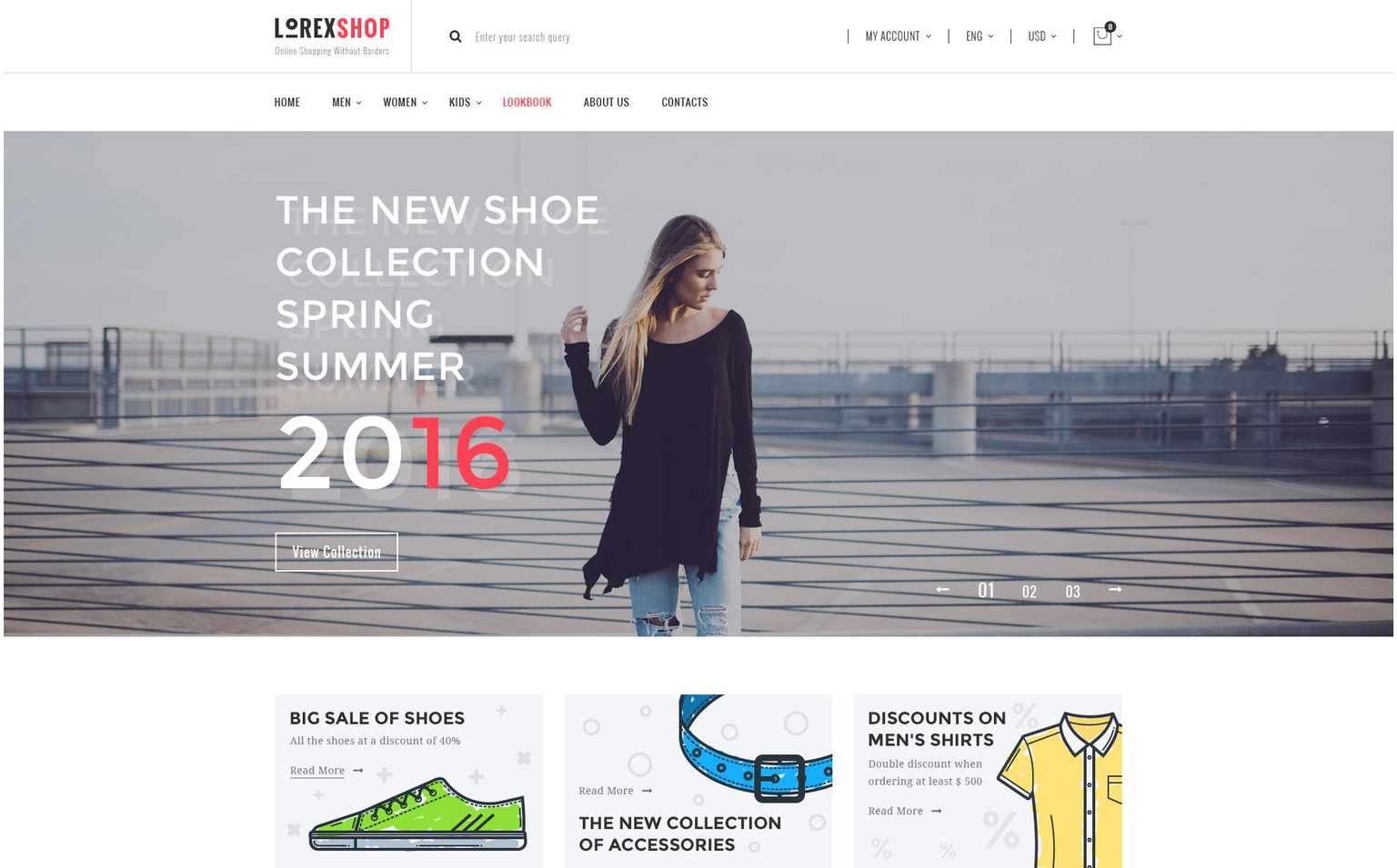 LOREX Fashion WooCommerce Theme #67146