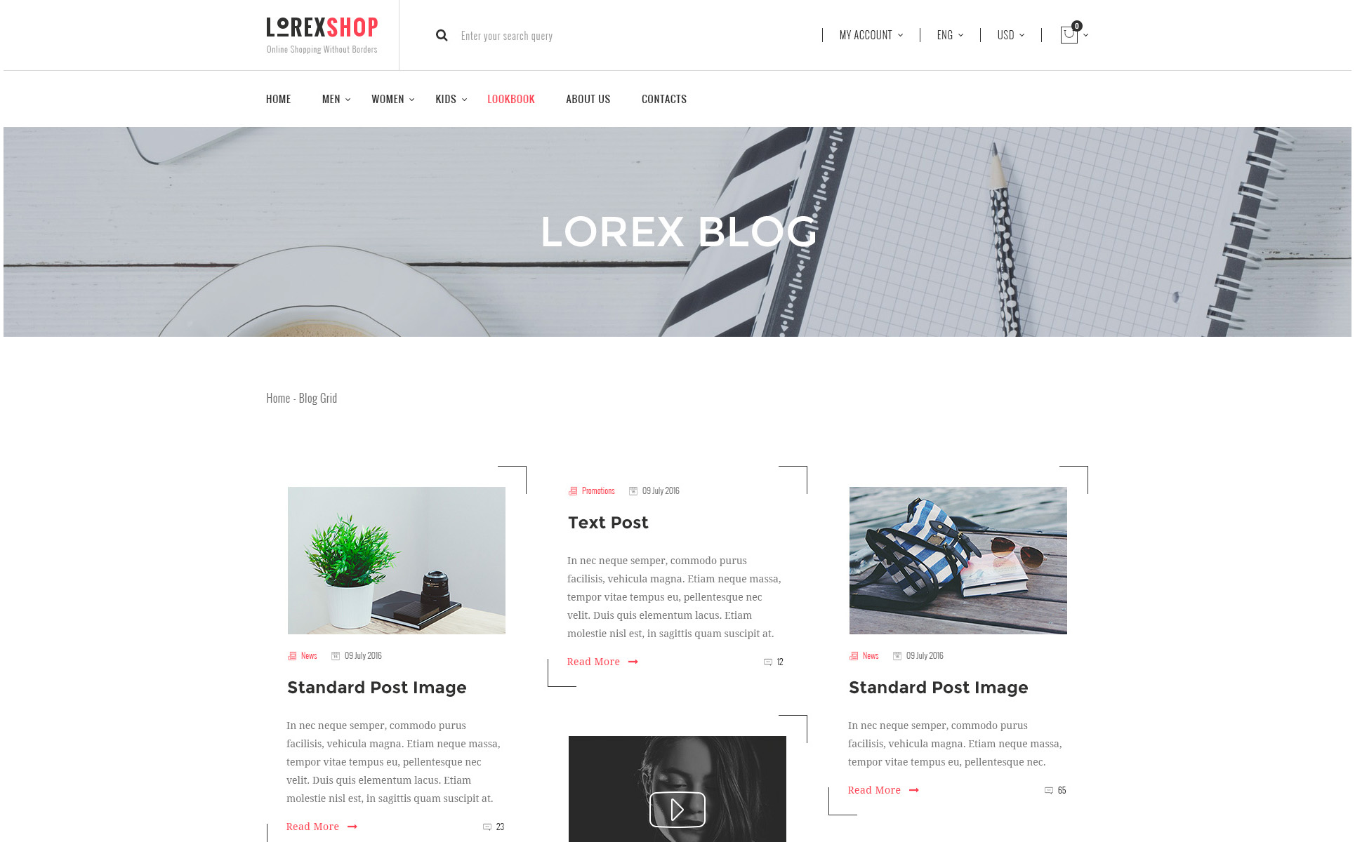 LOREX OpenCart Template