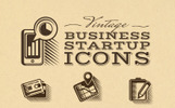 Business and Startup Iconset Template