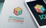 Internet Of Things Logo Template