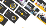 Black Hill Presentation PowerPoint Template