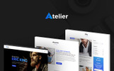 Atelier Design & Photography Template Tema WordPress №65989