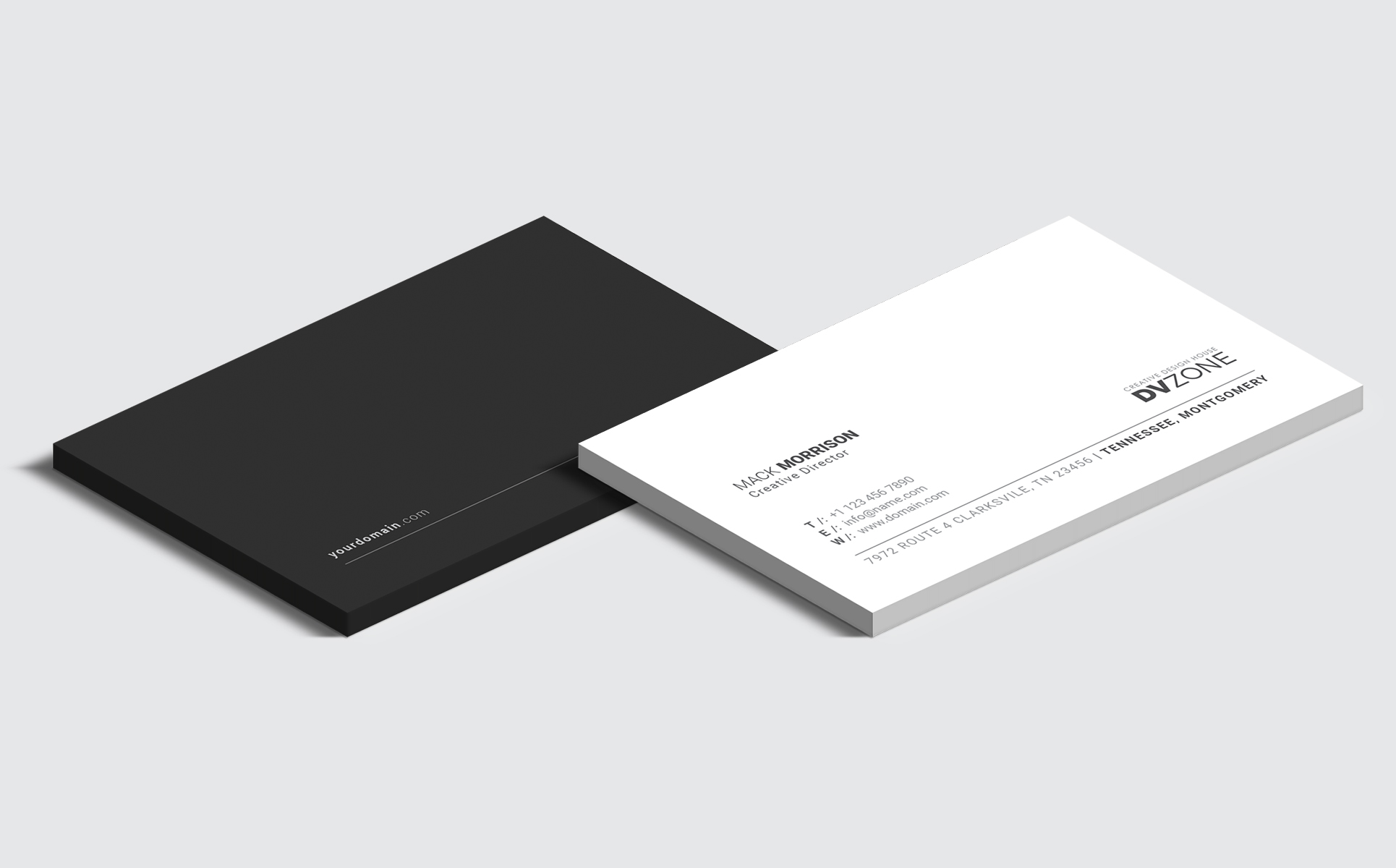 Business card bundle corporate identity template 65651 business card bundle corporate identity template big screenshot colourmoves Image collections