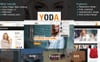 Yoda Clothes - HTML Website Template Big Screenshot