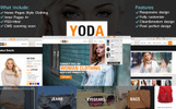 """Bootstrap Šablona webových stránek """"Yoda Clothes - HTML"""""""