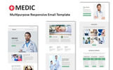Medic - Multipurpose Responsive Newsletter Template