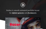 Brabus | Contemporary Modern Portfolio for Agencies Website Template