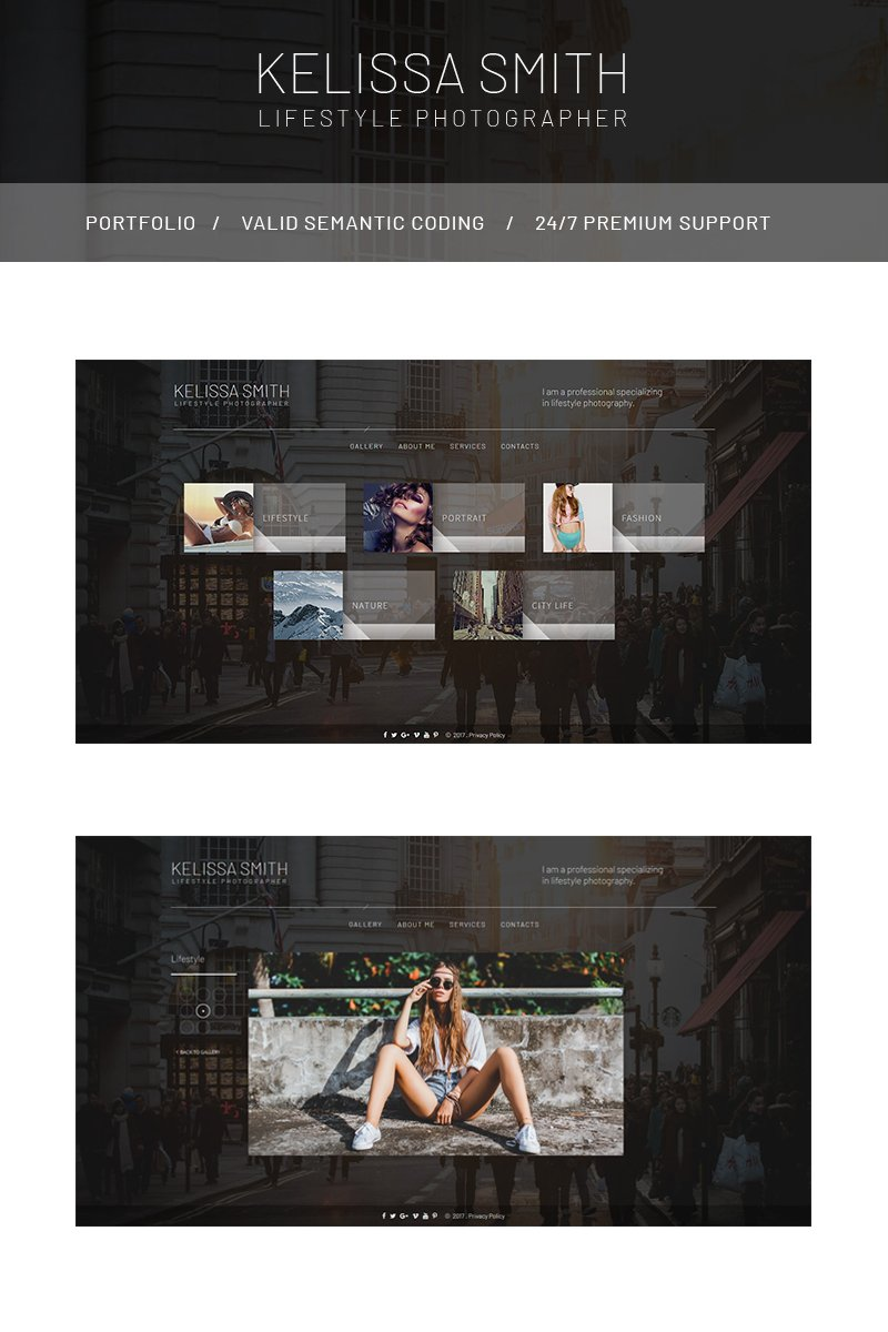 photography templates