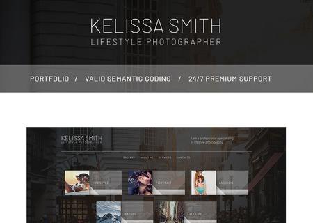 Photographer Portfolio HTML