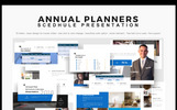 Annual Planner Presentation 2018 PowerPoint Template