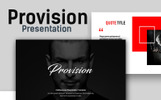 """Provision Creative Presentation"" Premium PowerPoint Template"