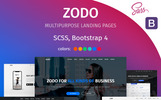Zodo Landing Page Template