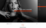 Responsive Light Shade Psd Şablon
