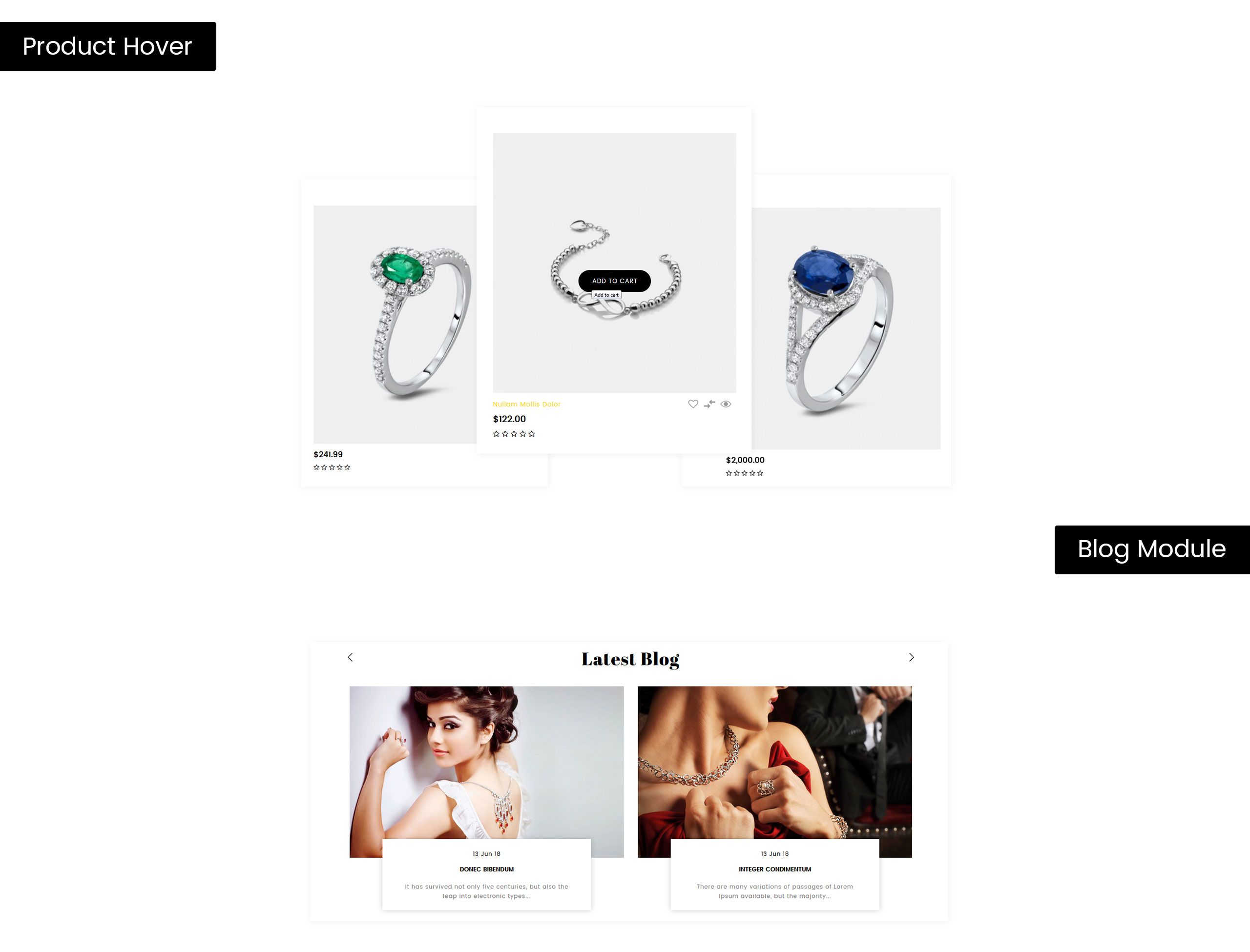 Rostam - Jewelry Store OpenCart Template