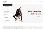 Адаптивний Шаблон сайту на тему мода