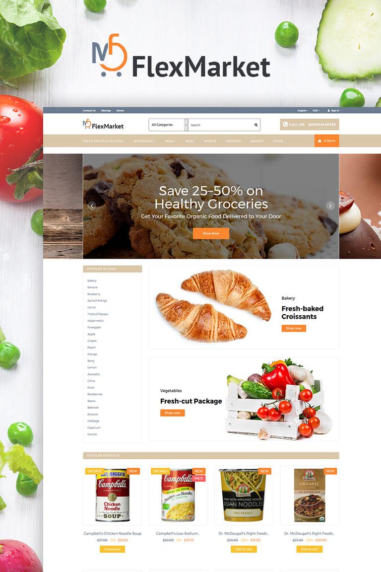FlexMarket PrestaShop Theme Big Screenshot