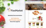 Tema de PrestaShop para Sitio de Tienda de Comestibles