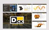 "Keynote Vorlage namens ""DCK -"""