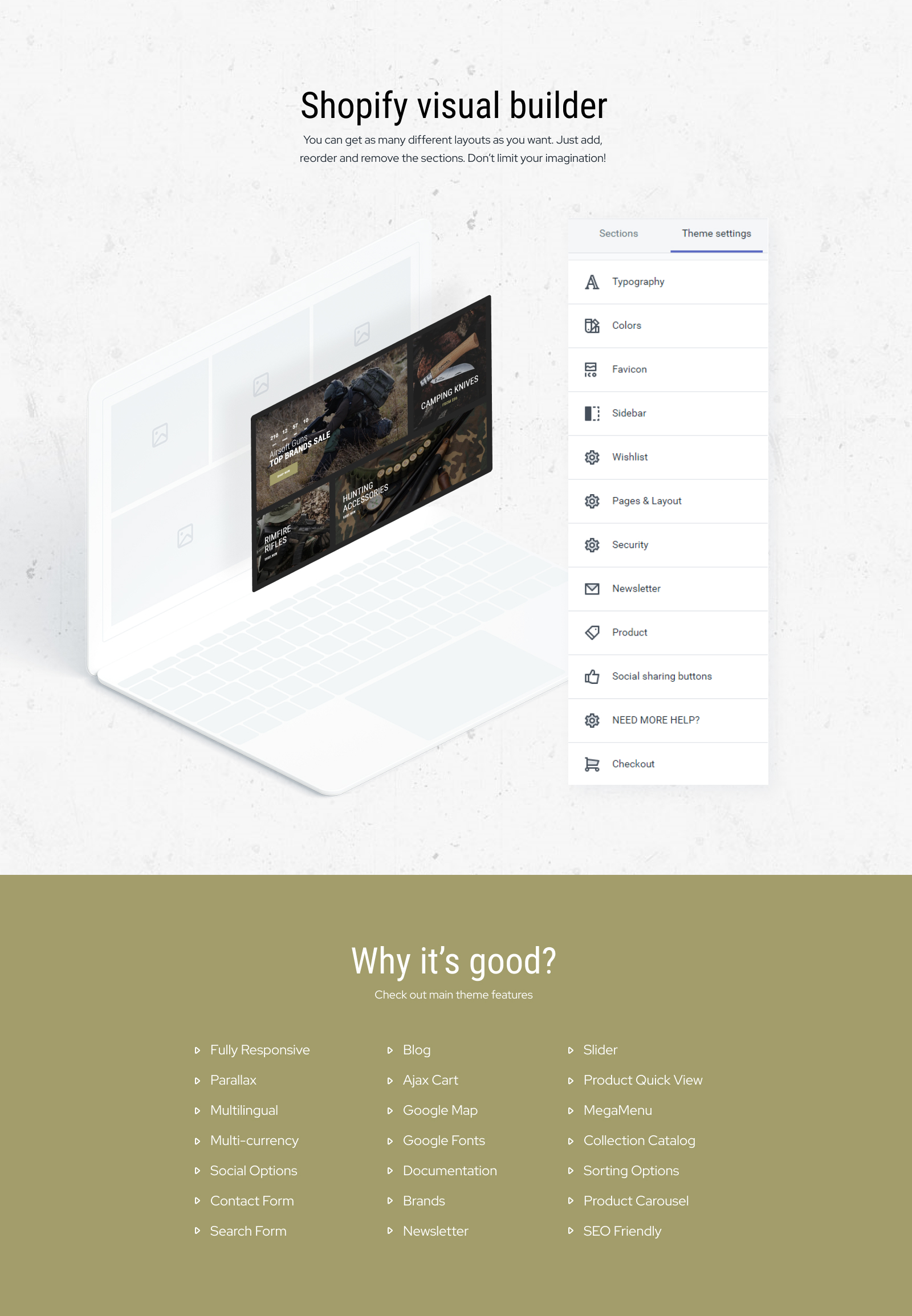 Soldierr - Military Multipage Clean Shopify Theme