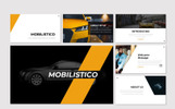 "Template Google Slides #83746 ""Mobilistico -"""