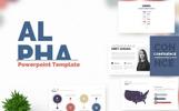 Alpha Presentation PowerPoint Template