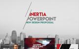 """Inertia"" modèle PowerPoint"
