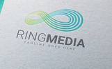 Ring Media - Logo Template