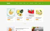 Recipe Food Directory PSD Template