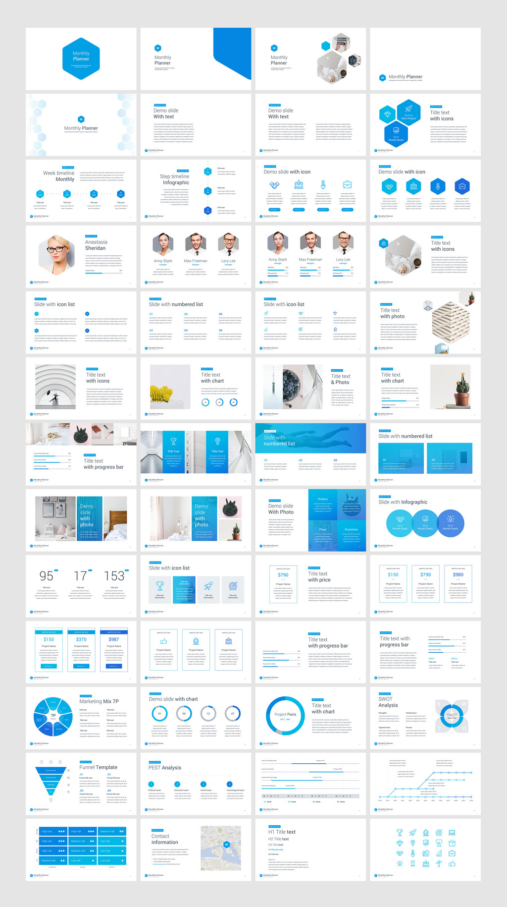 Monthly planner powerpoint template 66054 monthly planner powerpoint template professional marketing business tools 2 click to edit color text size full editable shape infographic no need toneelgroepblik Gallery